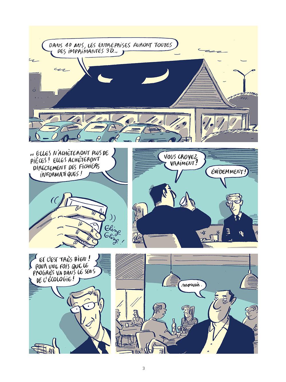 Extrait n°1 de la bd Stop Work  - Les joies de l'entreprise moderne par Morgan Navarro