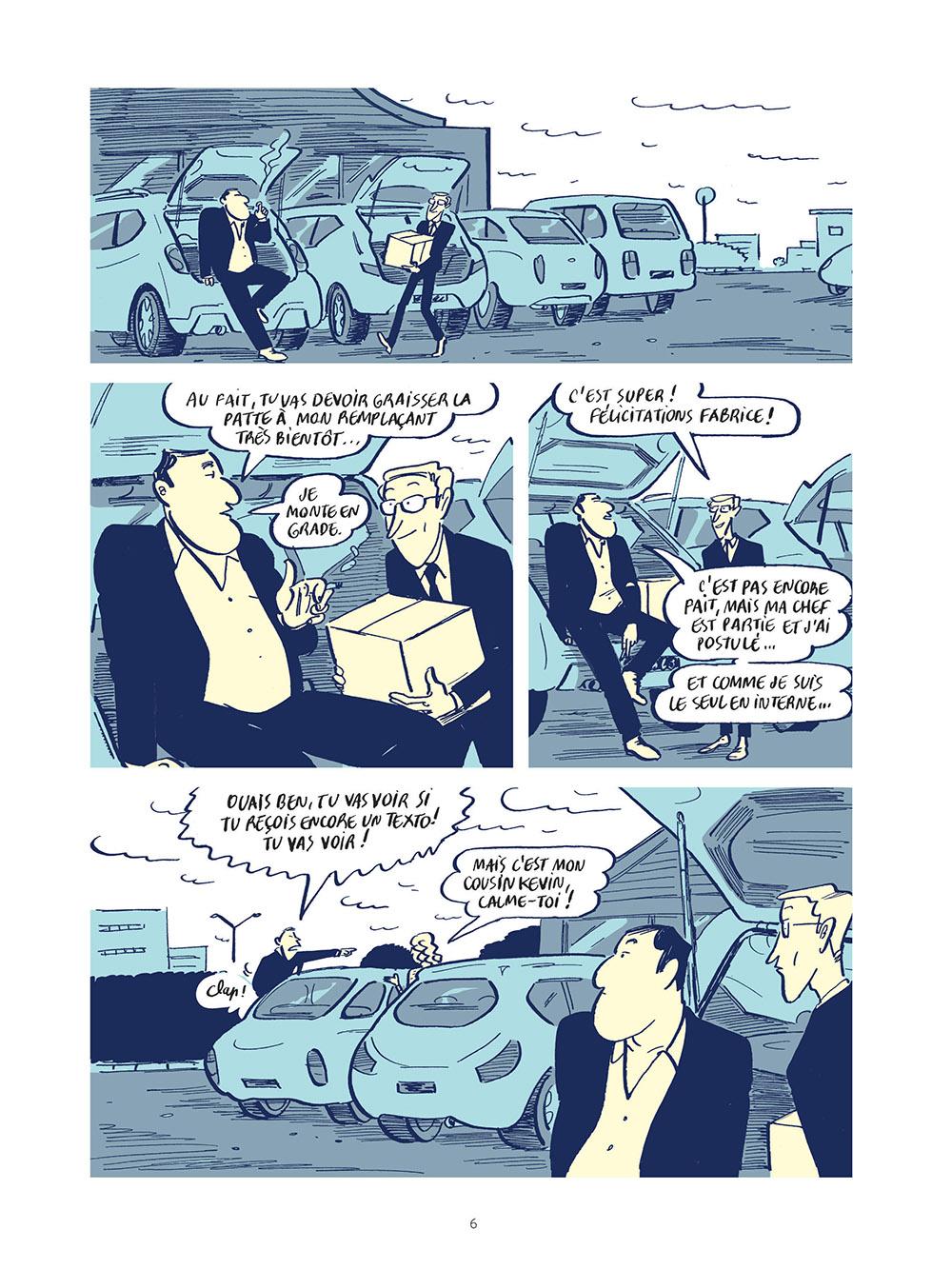 Extrait n°4 de la bd Stop Work  - Les joies de l'entreprise moderne par Morgan Navarro