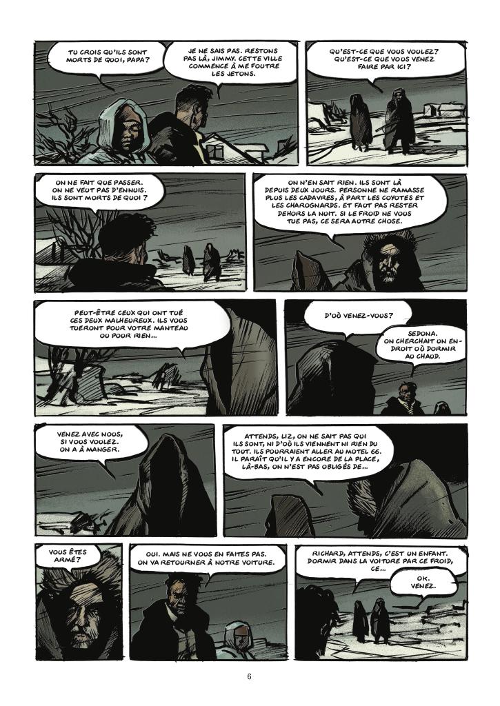 Extrait n°4 de la bd tome 2 par Matz