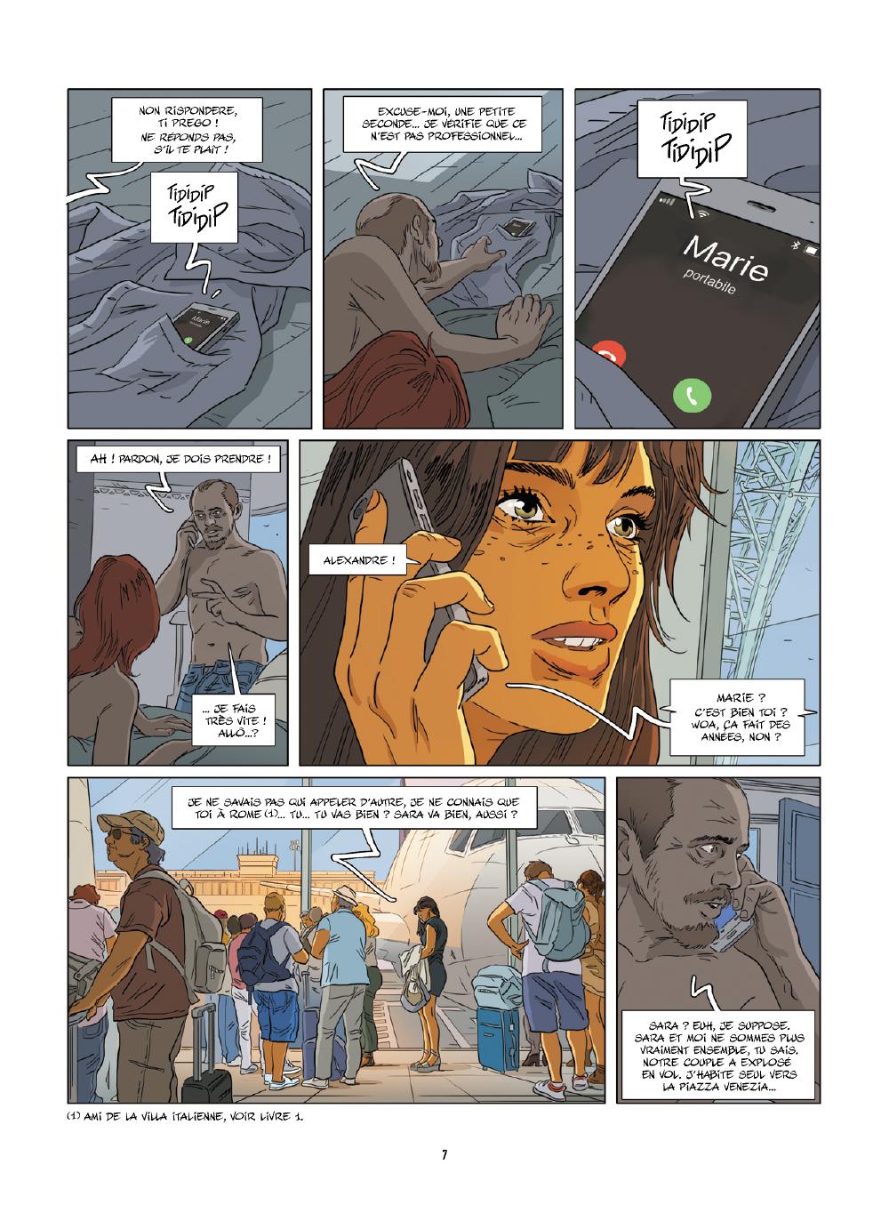 Extrait n°3 de la bd tome 4 par Jim