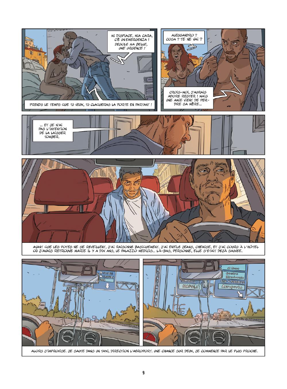 Extrait n°5 de la bd tome 4 par Jim