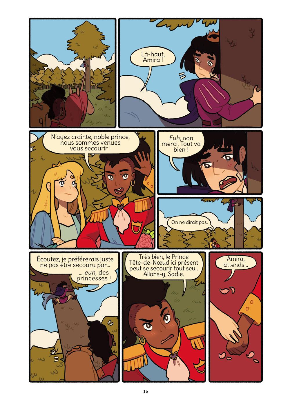Extrait n°11 de la bd Princesse Princesse par Katie O'Neill