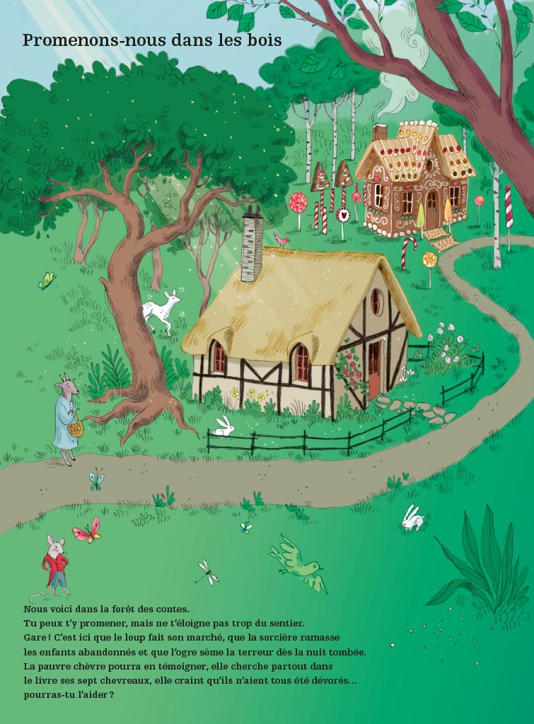 Extrait n°3 de la bd Voyage au pays des contes par Camille Garoche