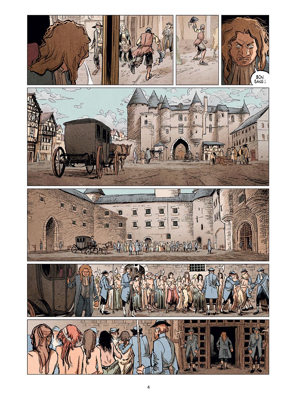 Extrait n°2 de la bd tome 2 par Stéphane Piatzszek