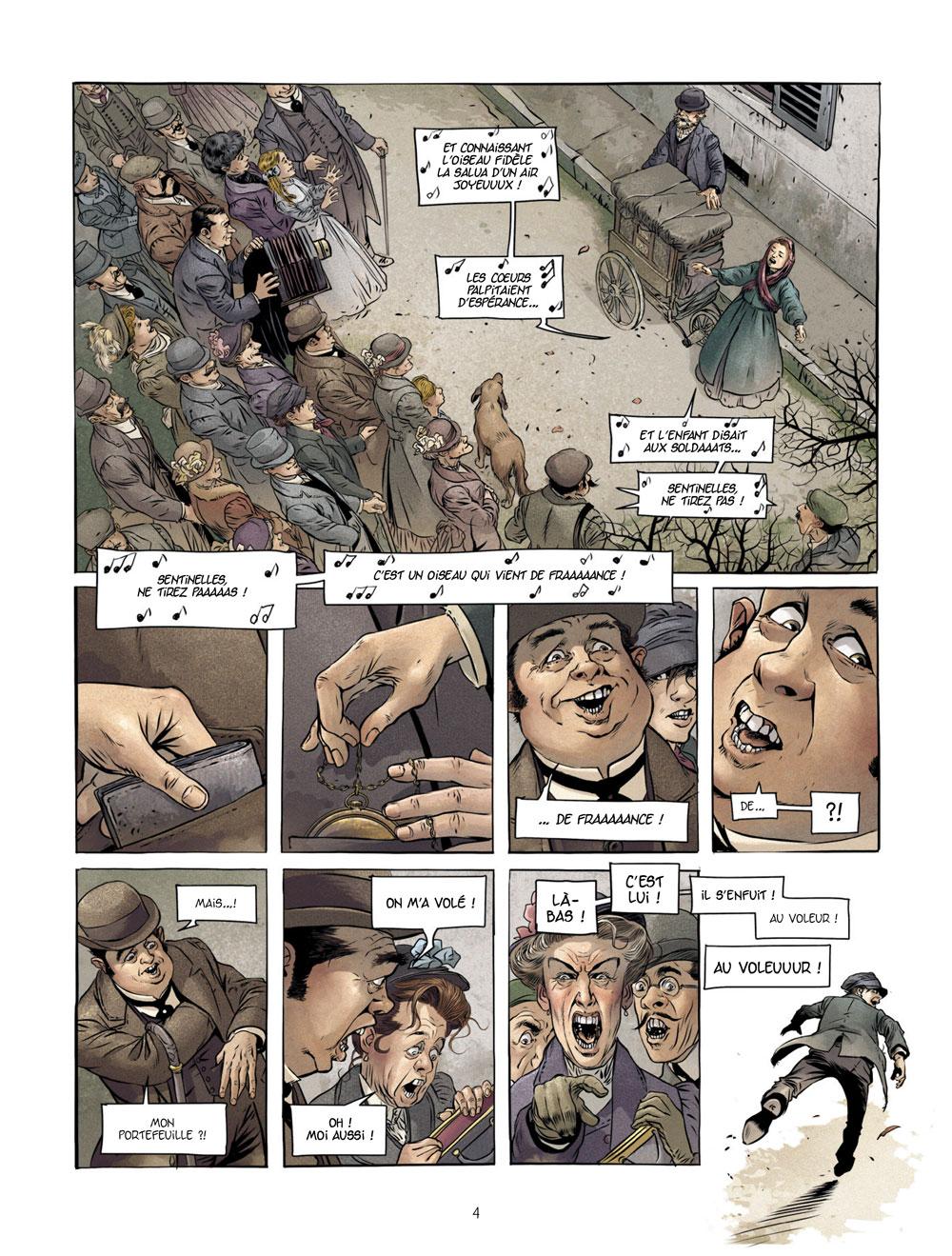 Extrait n°2 de la bd tome 1 par Éric Stalner