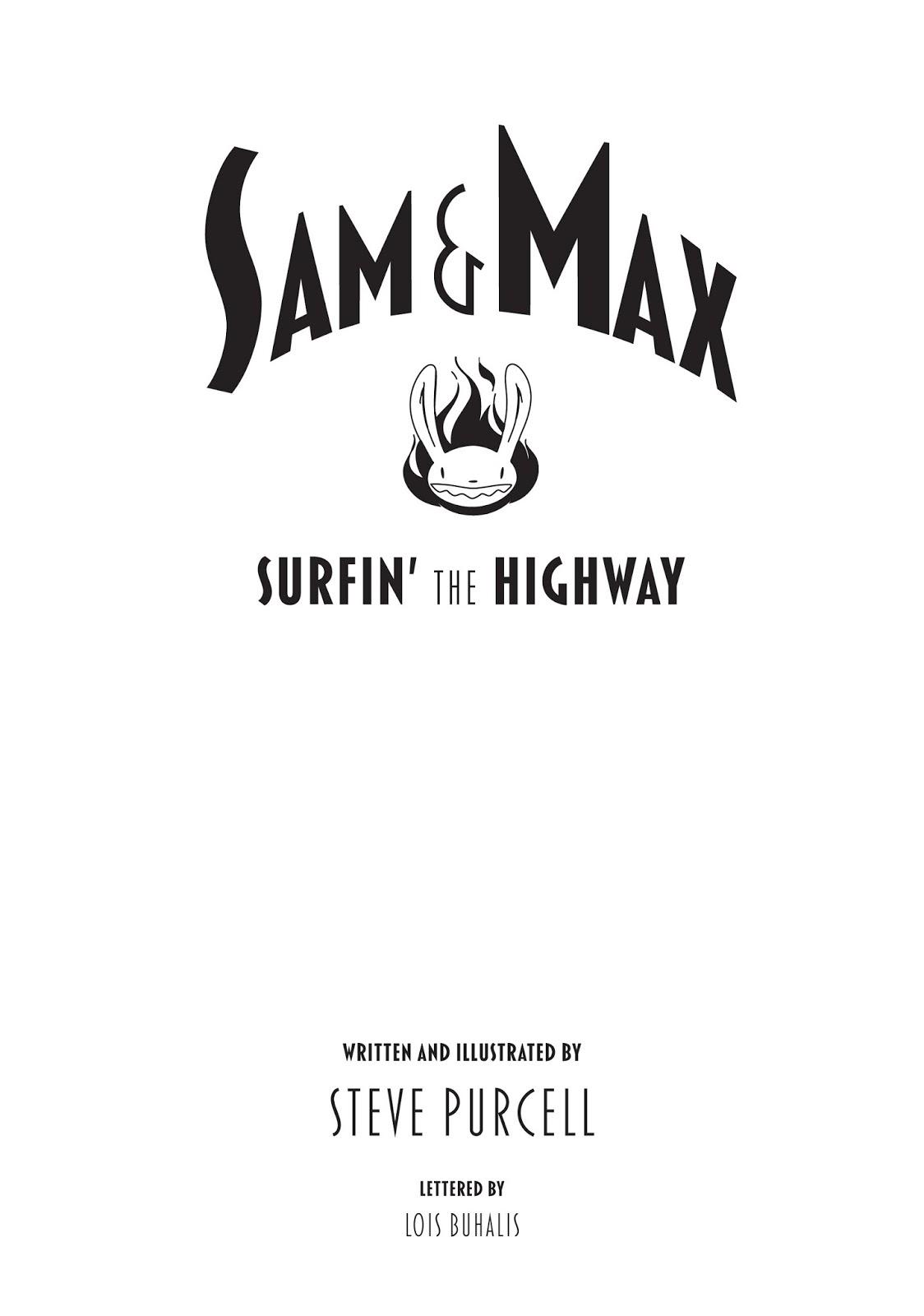 Sam & Max Sam & Max Surfin' The Highway