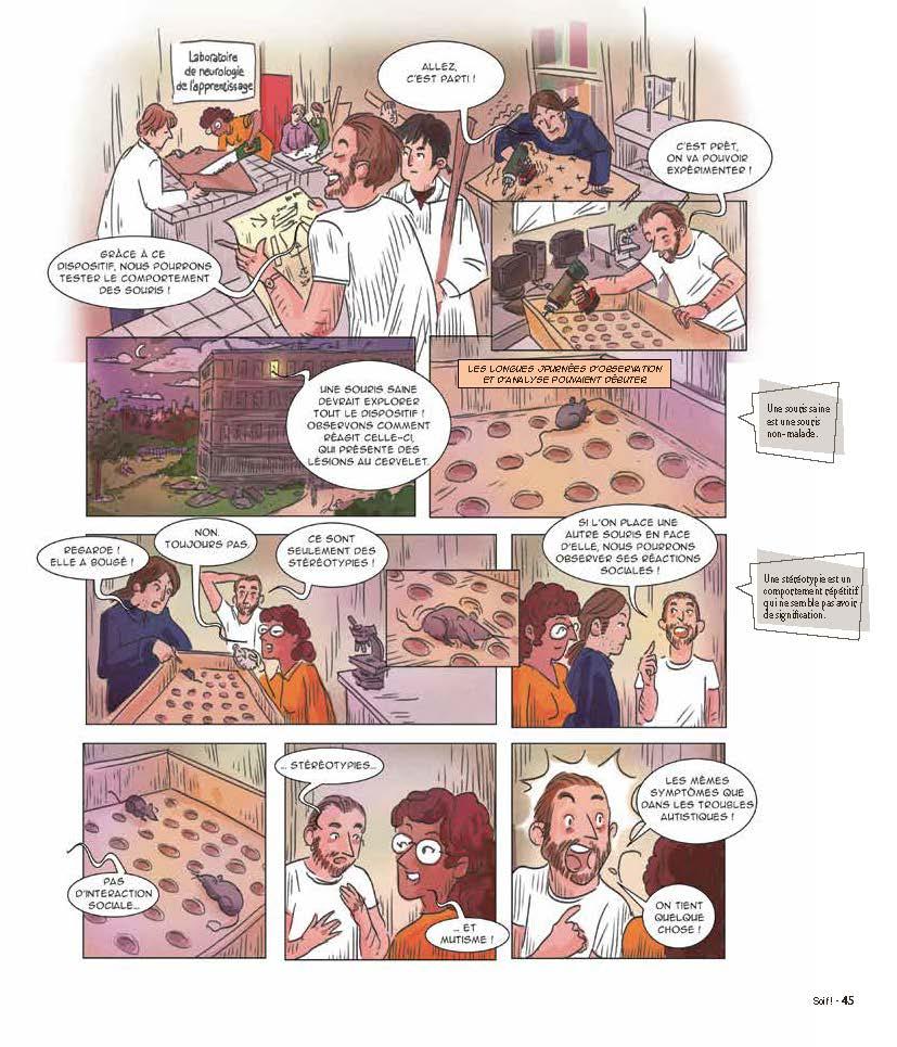 Extrait n°4 de la bd tome 2 par Collectif