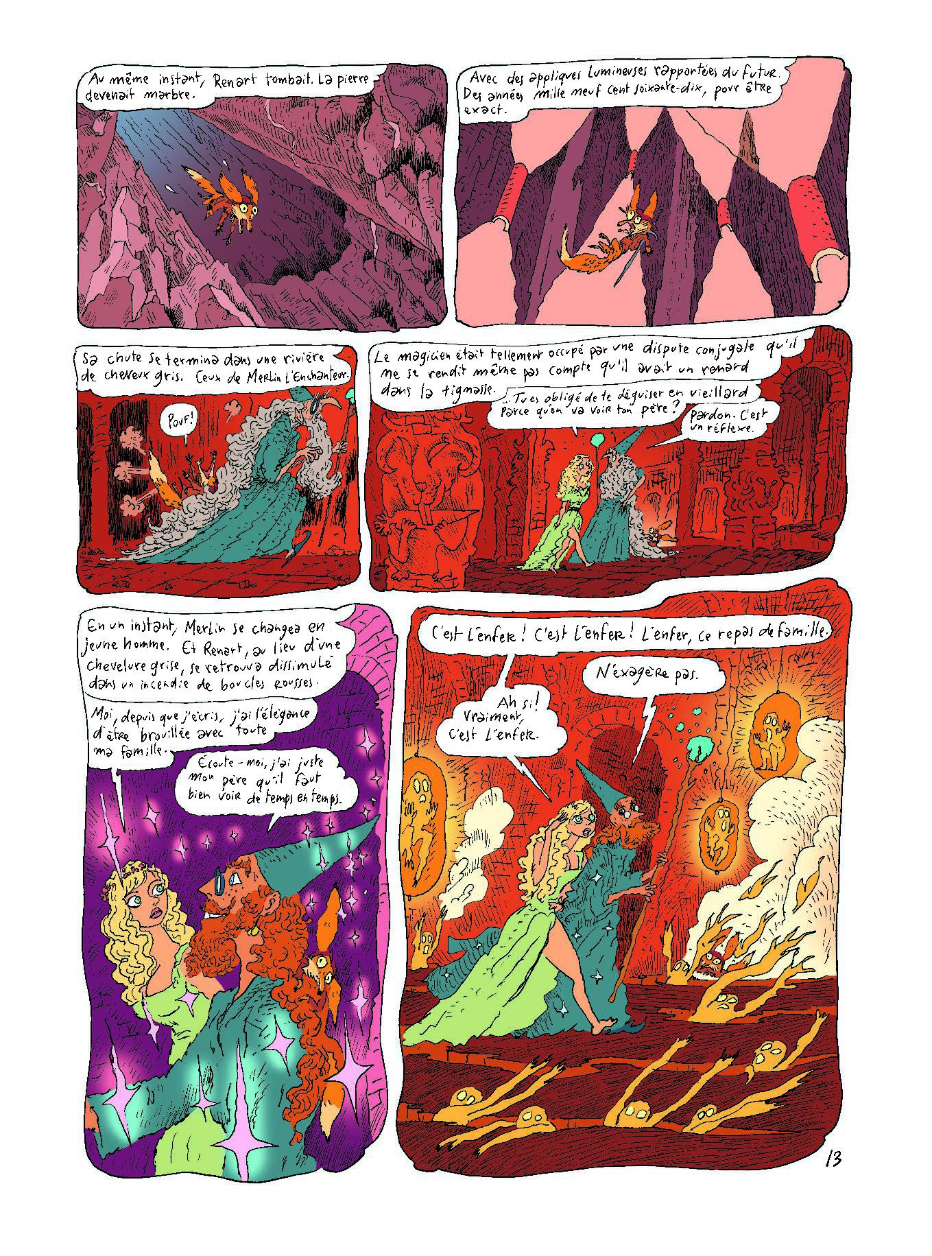 Extrait n°9 de la bd tome 1 par Joann Sfar