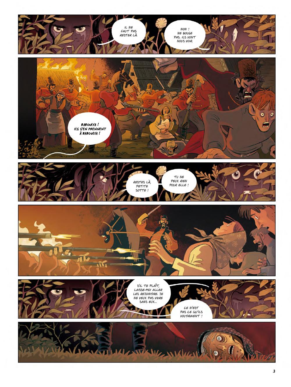 Extrait n°1 de la bd Yaga par Antoine Ozanam