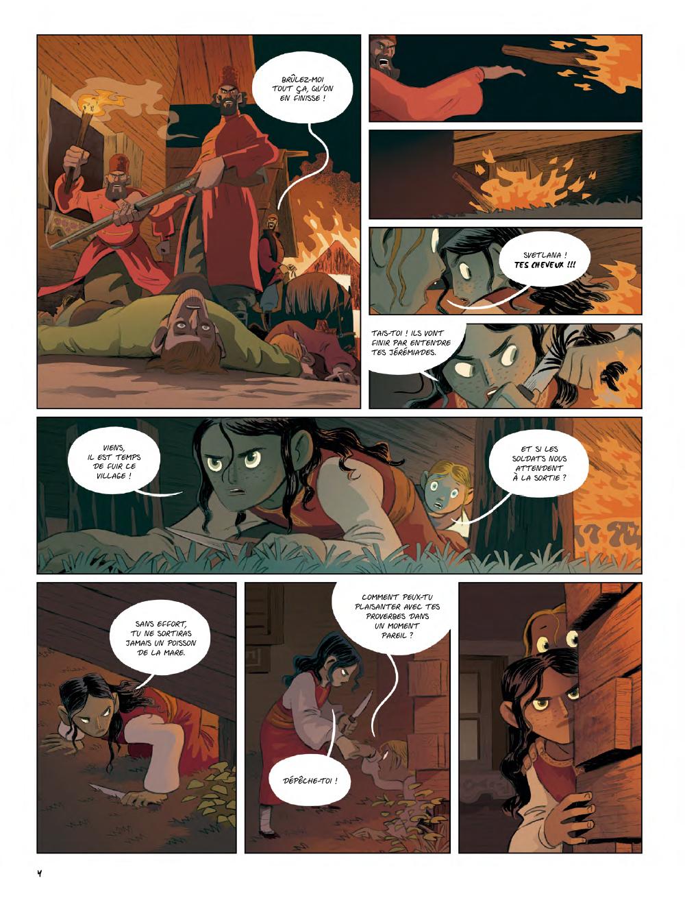 Extrait n°2 de la bd Yaga par Antoine Ozanam