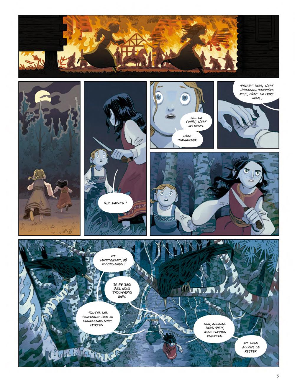 Extrait n°3 de la bd Yaga par Antoine Ozanam