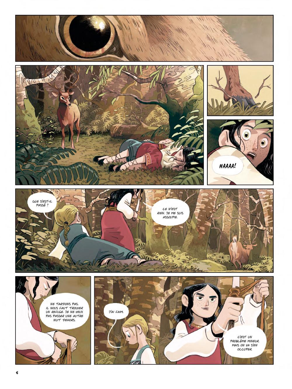 Extrait n°4 de la bd Yaga par Antoine Ozanam