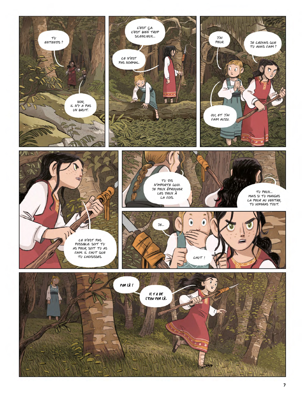 Extrait n°5 de la bd Yaga par Antoine Ozanam