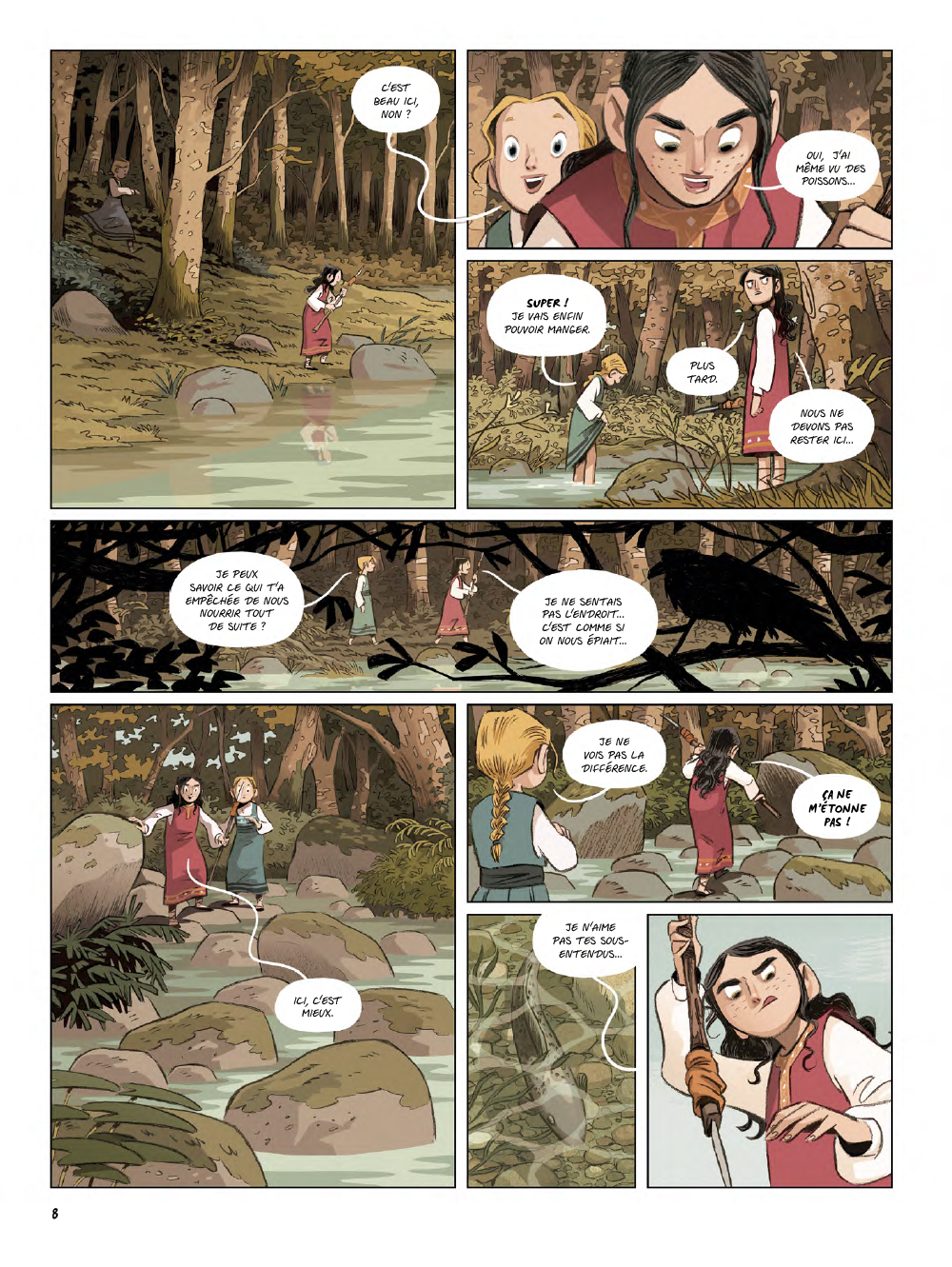 Extrait n°6 de la bd Yaga par Antoine Ozanam