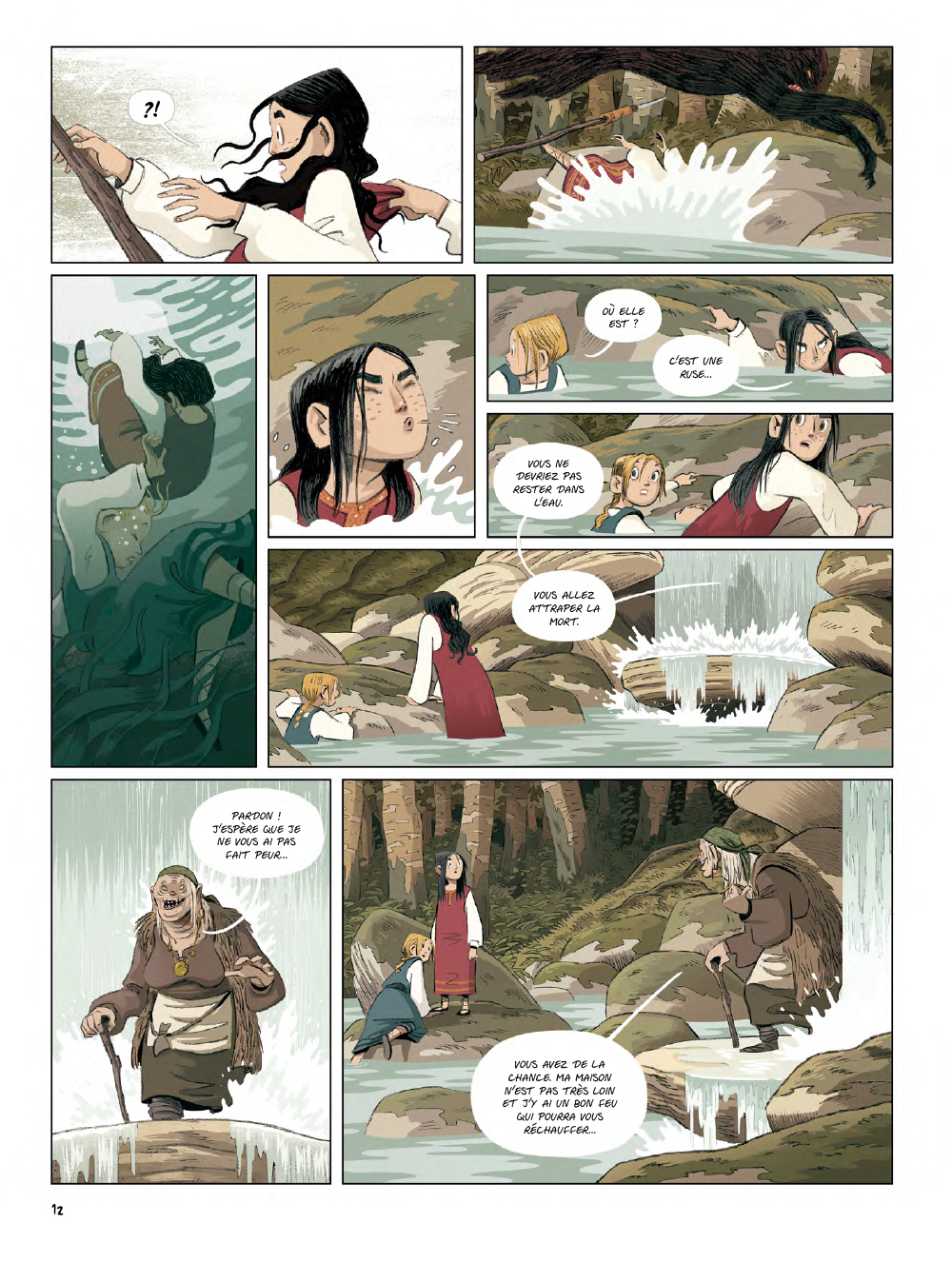 Extrait n°10 de la bd Yaga par Antoine Ozanam