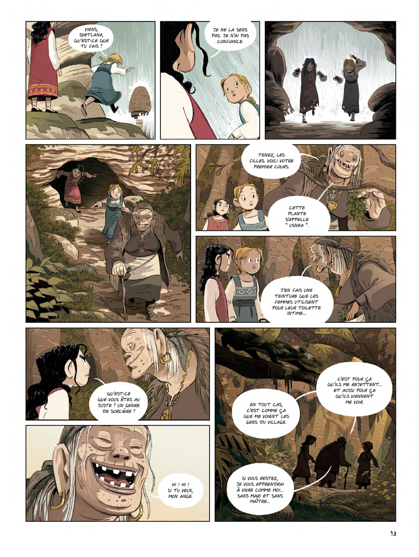 Extrait n°11 de la bd Yaga par Antoine Ozanam