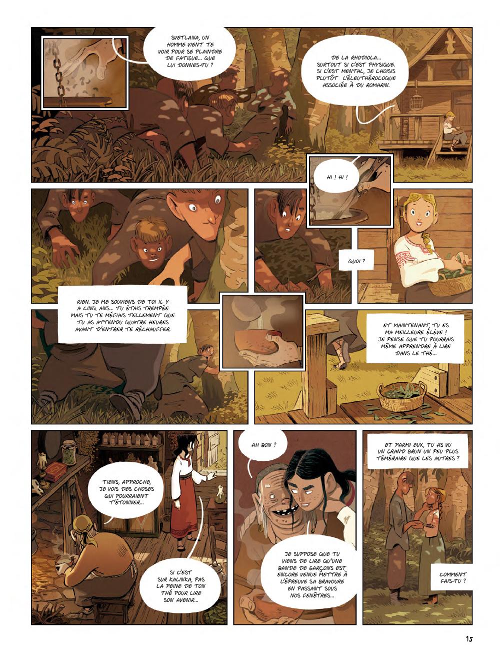 Extrait n°13 de la bd Yaga par Antoine Ozanam