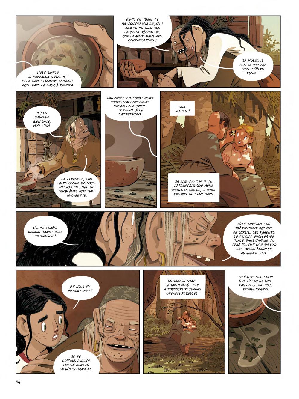 Extrait n°14 de la bd Yaga par Antoine Ozanam
