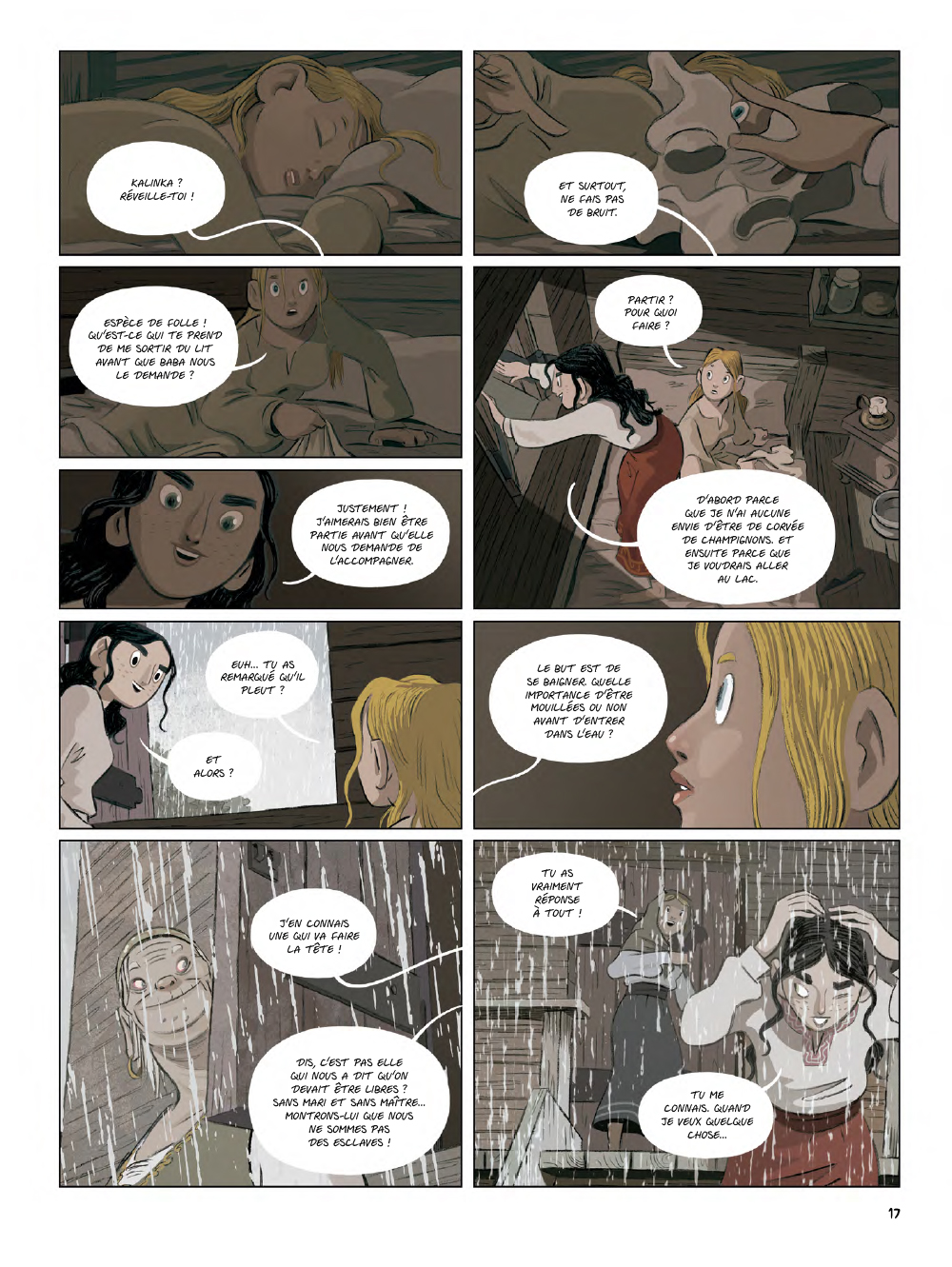 Extrait n°15 de la bd Yaga par Antoine Ozanam