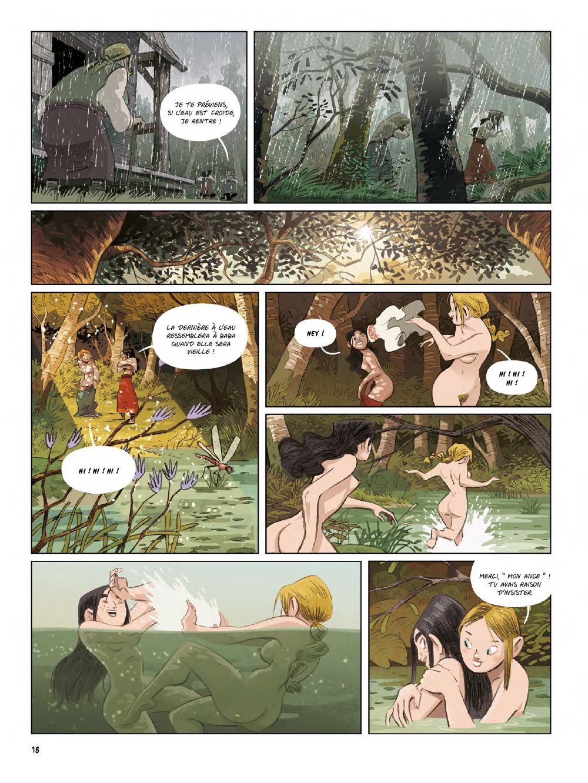 Extrait n°16 de la bd Yaga par Antoine Ozanam