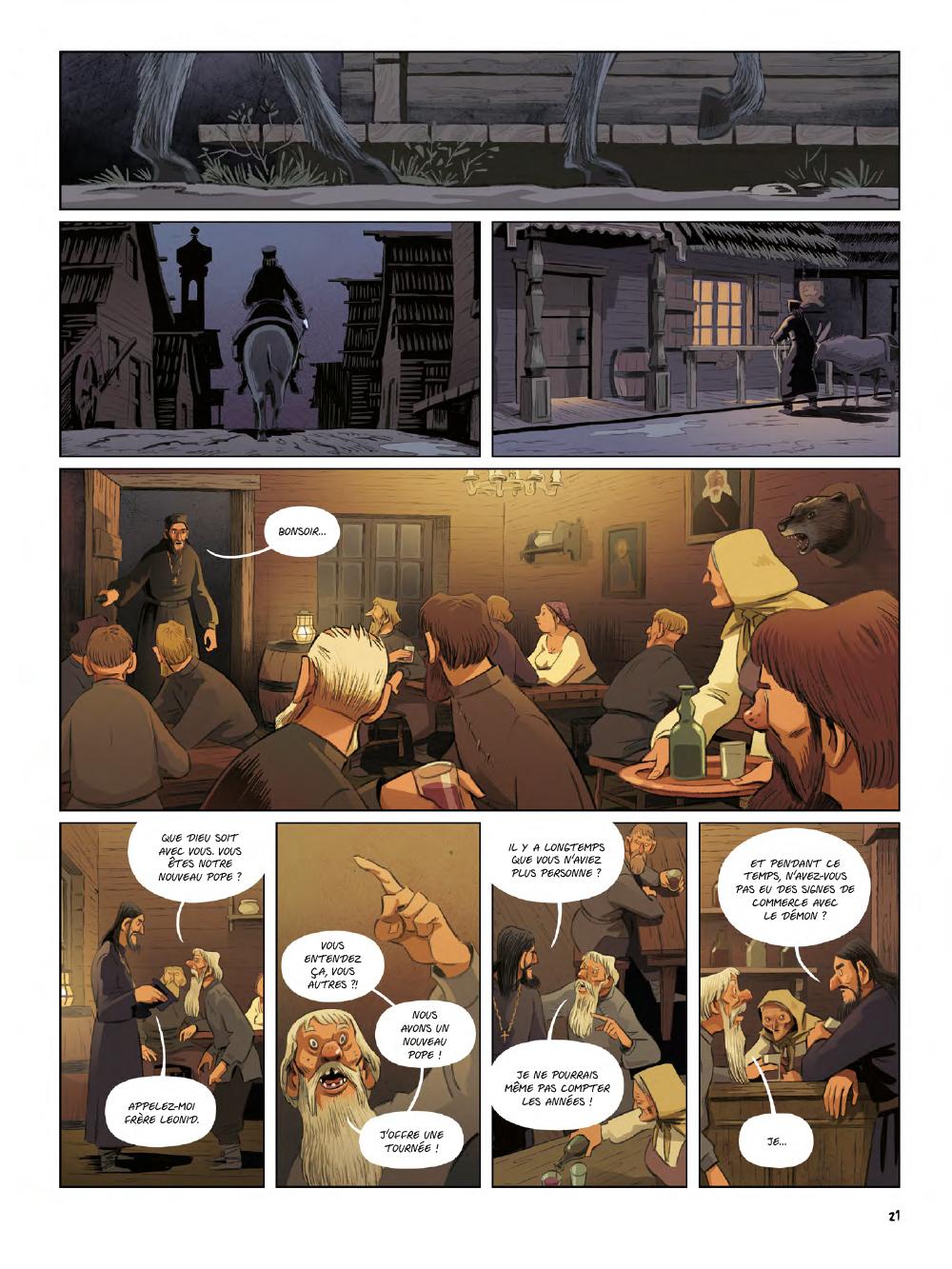 Extrait n°19 de la bd Yaga par Antoine Ozanam