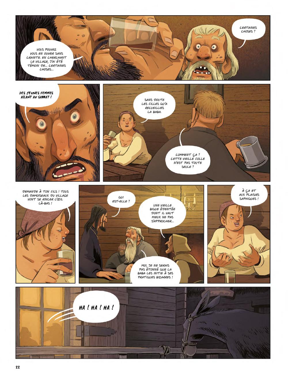 Extrait n°20 de la bd Yaga par Antoine Ozanam