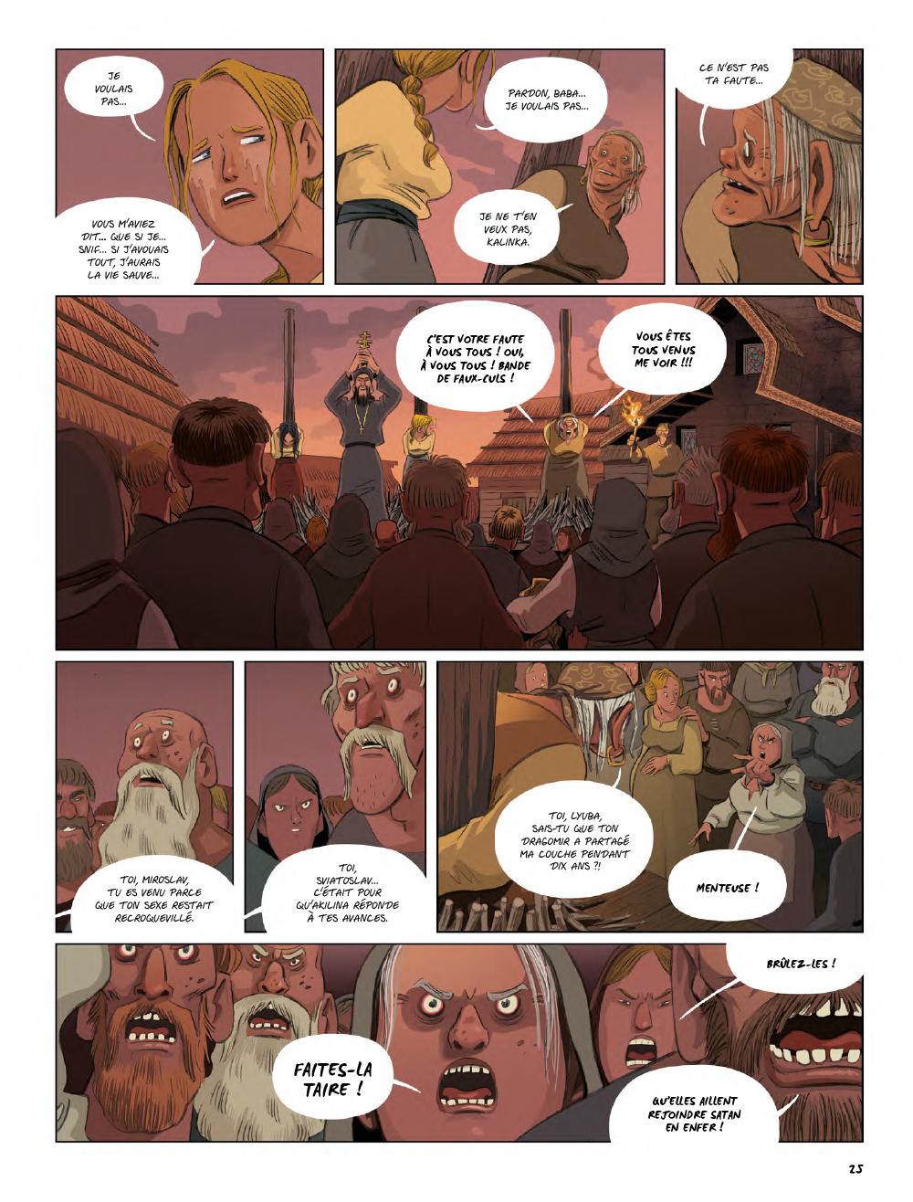 Extrait n°23 de la bd Yaga par Antoine Ozanam