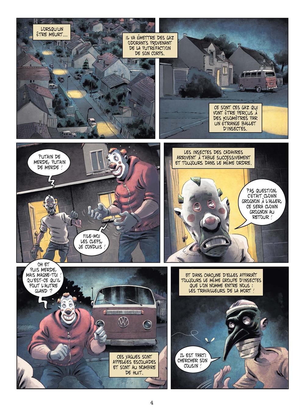 Extrait n°1 de la bd tome 3 par Julien Gaet's