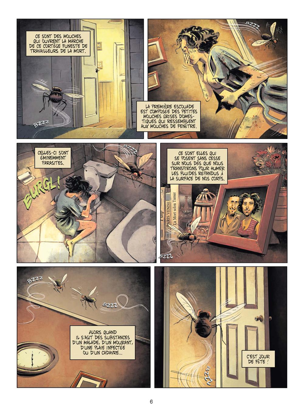 Extrait n°3 de la bd tome 3 par Julien Gaet's