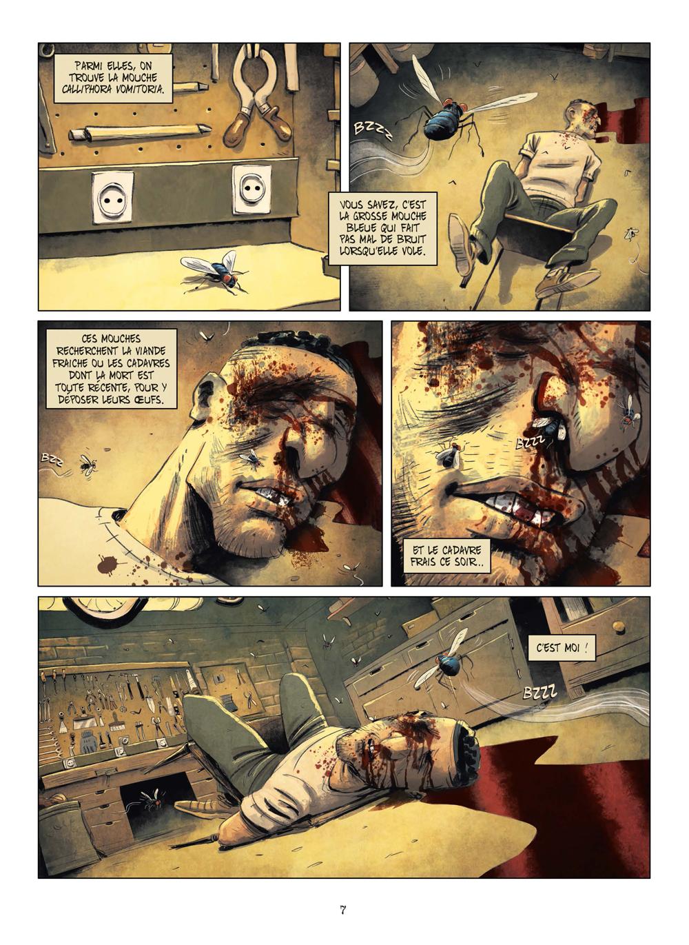 Extrait n°4 de la bd tome 3 par Julien Gaet's