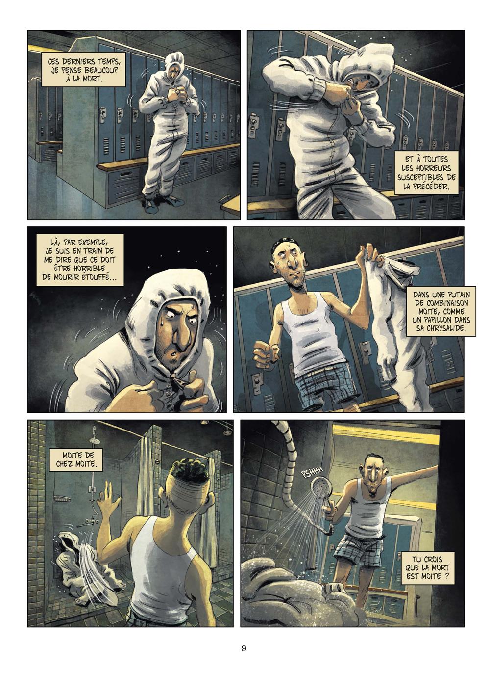 Extrait n°6 de la bd tome 3 par Julien Gaet's