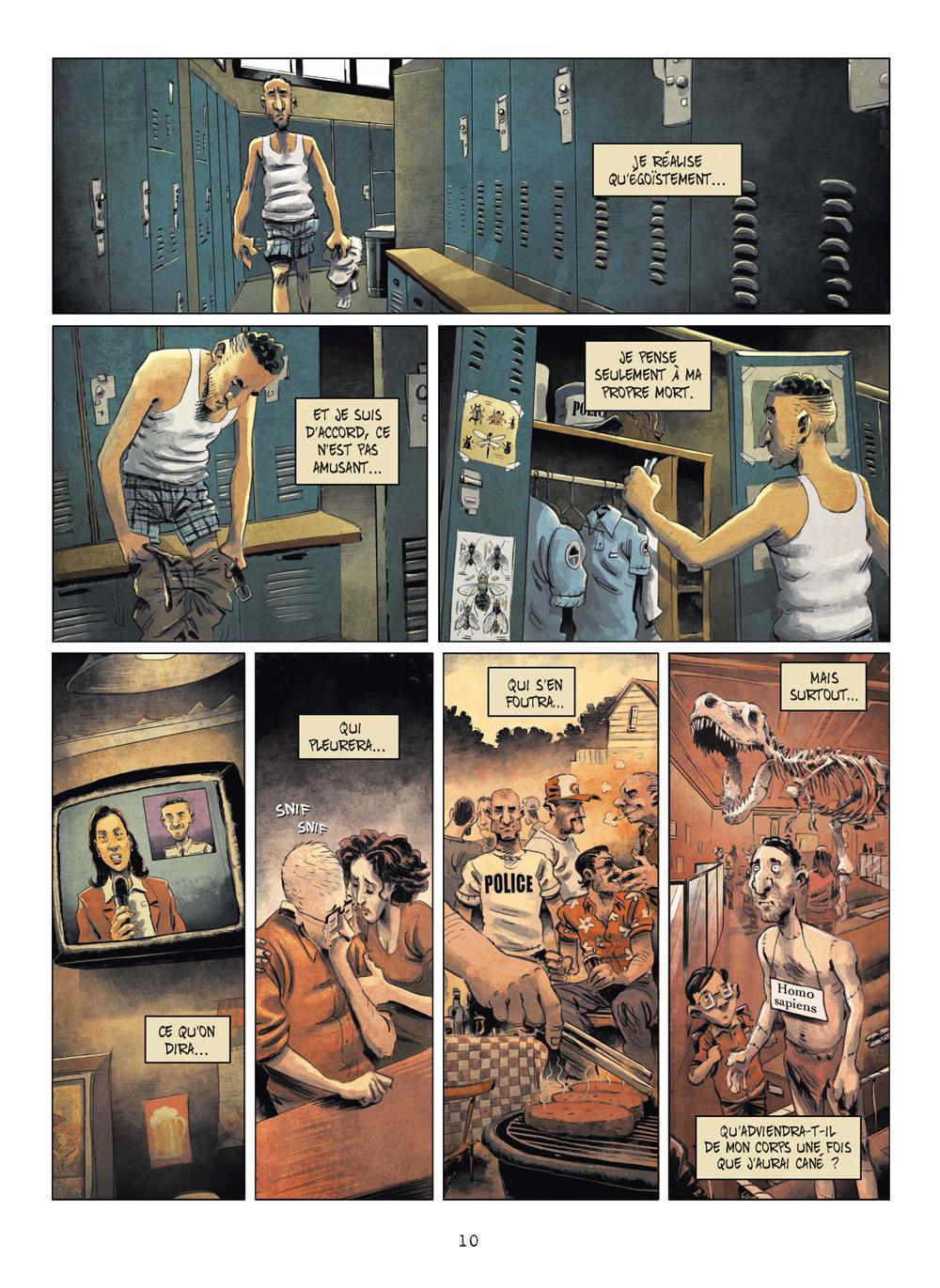 Extrait n°7 de la bd tome 3 par Julien Gaet's