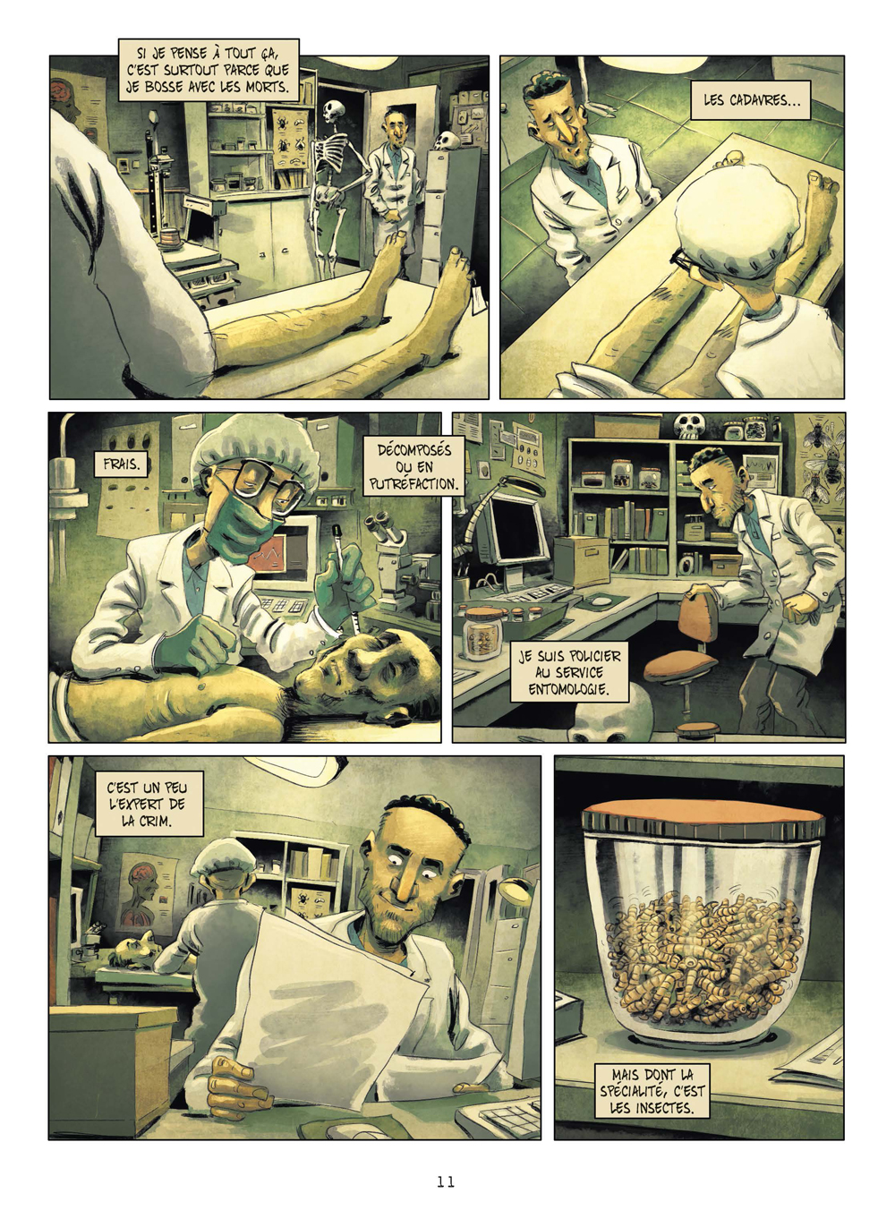 Extrait n°8 de la bd tome 3 par Julien Gaet's