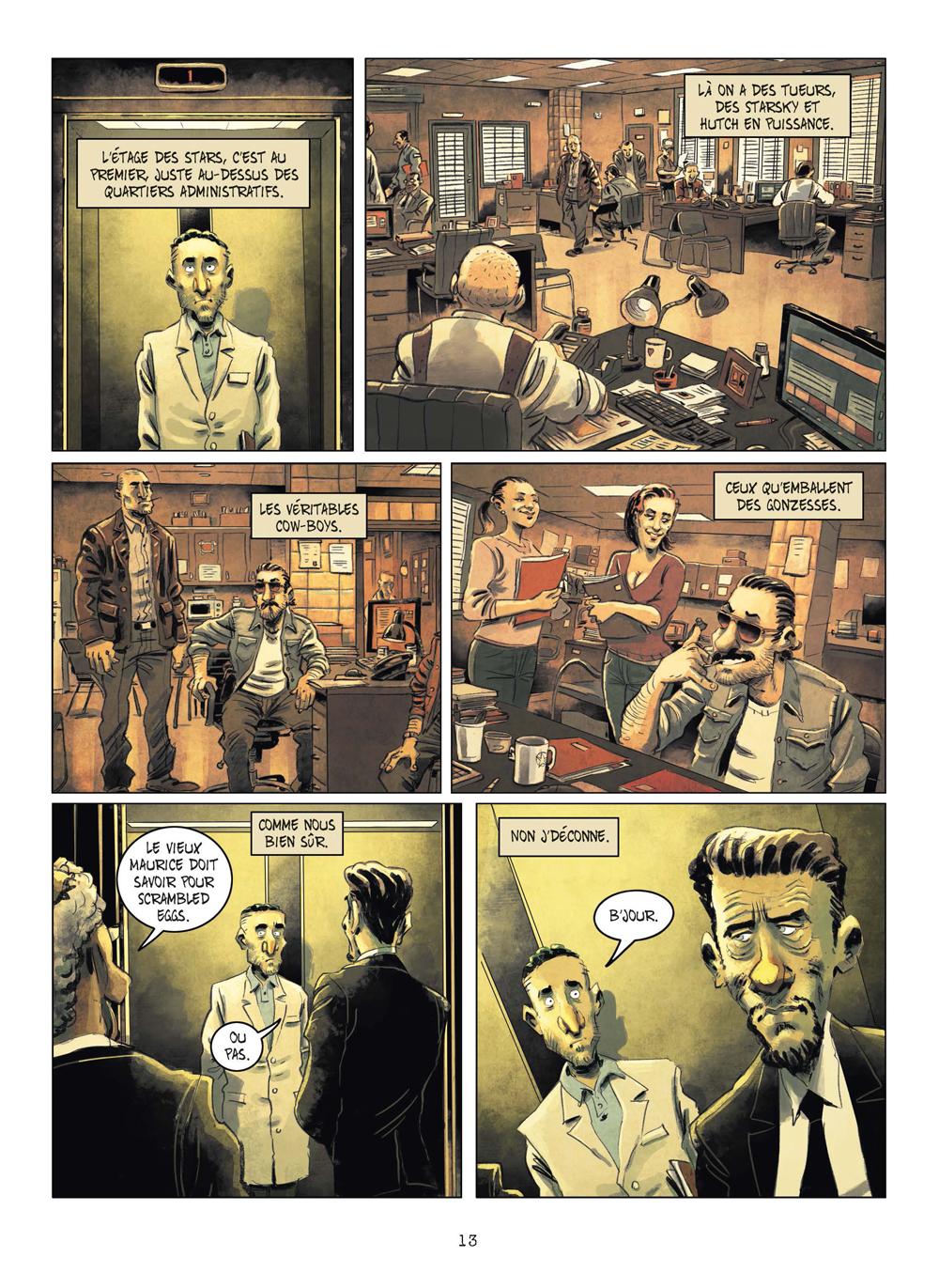 Extrait n°10 de la bd tome 3 par Julien Gaet's