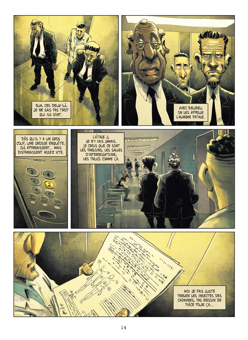 Extrait n°11 de la bd tome 3 par Julien Gaet's