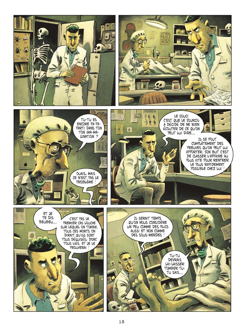 Extrait n°15 de la bd tome 3 par Julien Gaet's