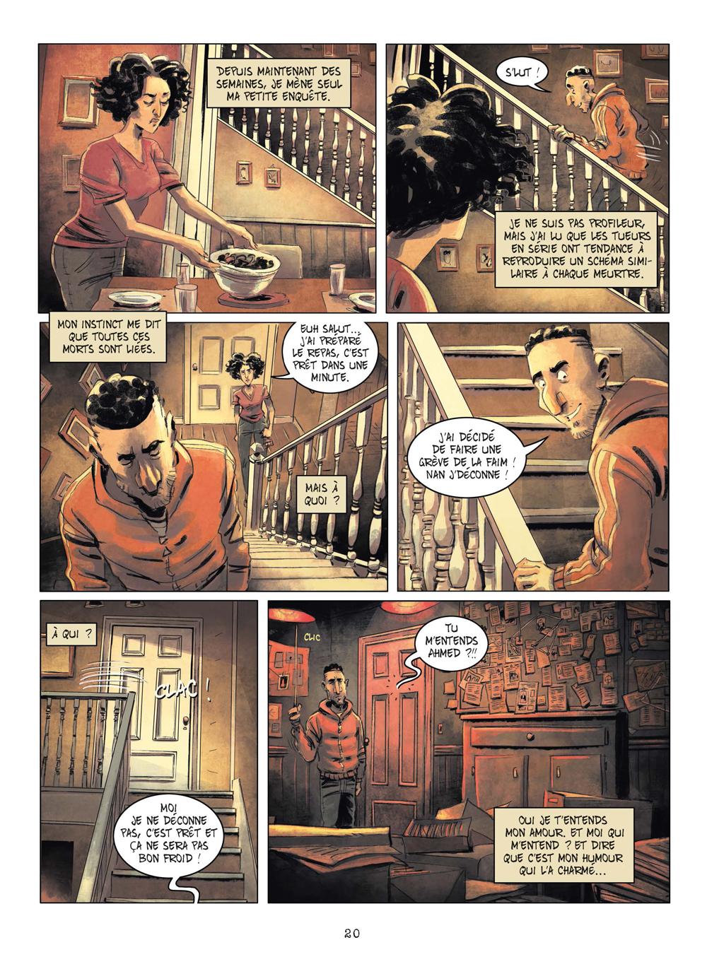 Extrait n°17 de la bd tome 3 par Julien Gaet's
