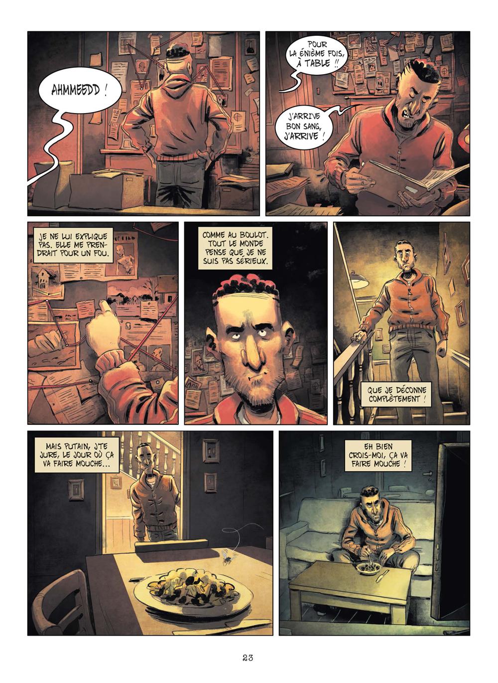 Extrait n°20 de la bd tome 3 par Julien Gaet's