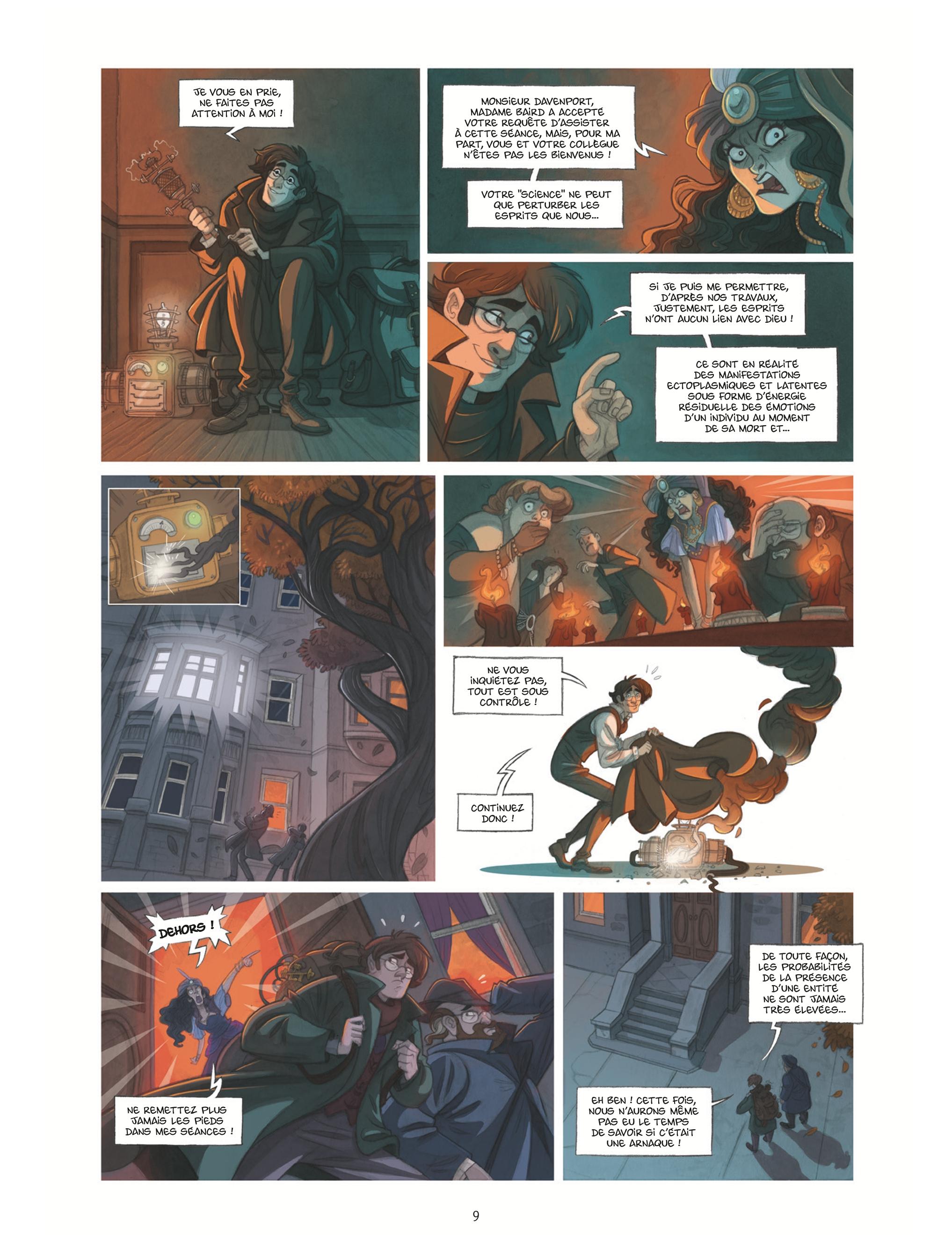 Extrait n°7 de la bd tome 1 par Mara
