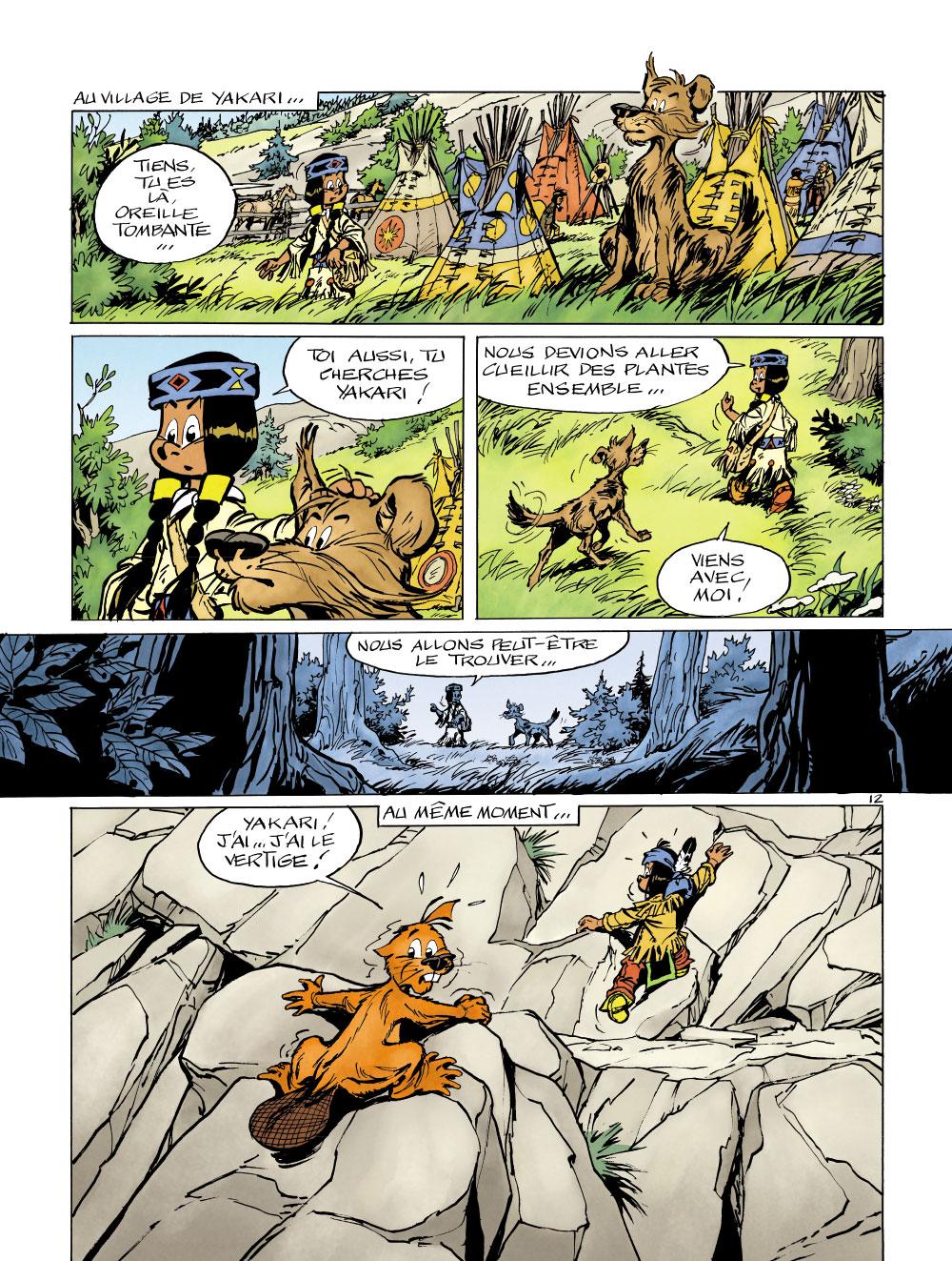 Extrait n°12 de la bd tome 41 par Derib