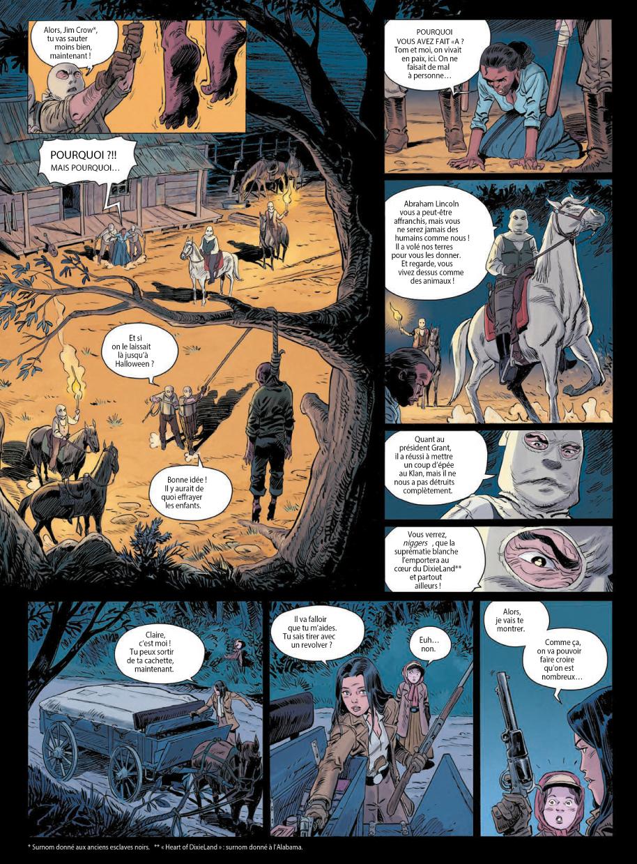 Extrait n°2 de la bd tome 3 par Laurent Astier