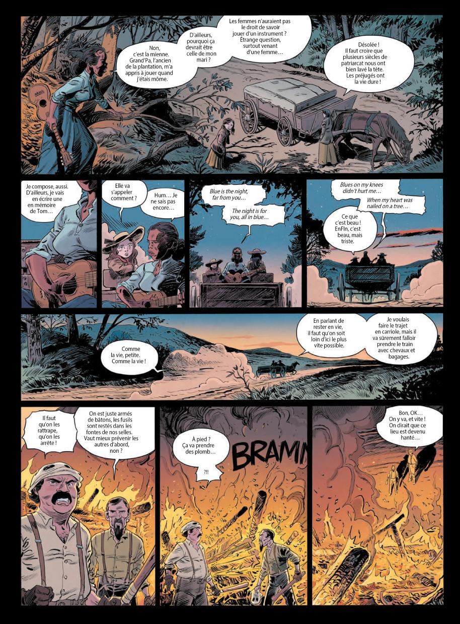 Extrait n°5 de la bd tome 3 par Laurent Astier