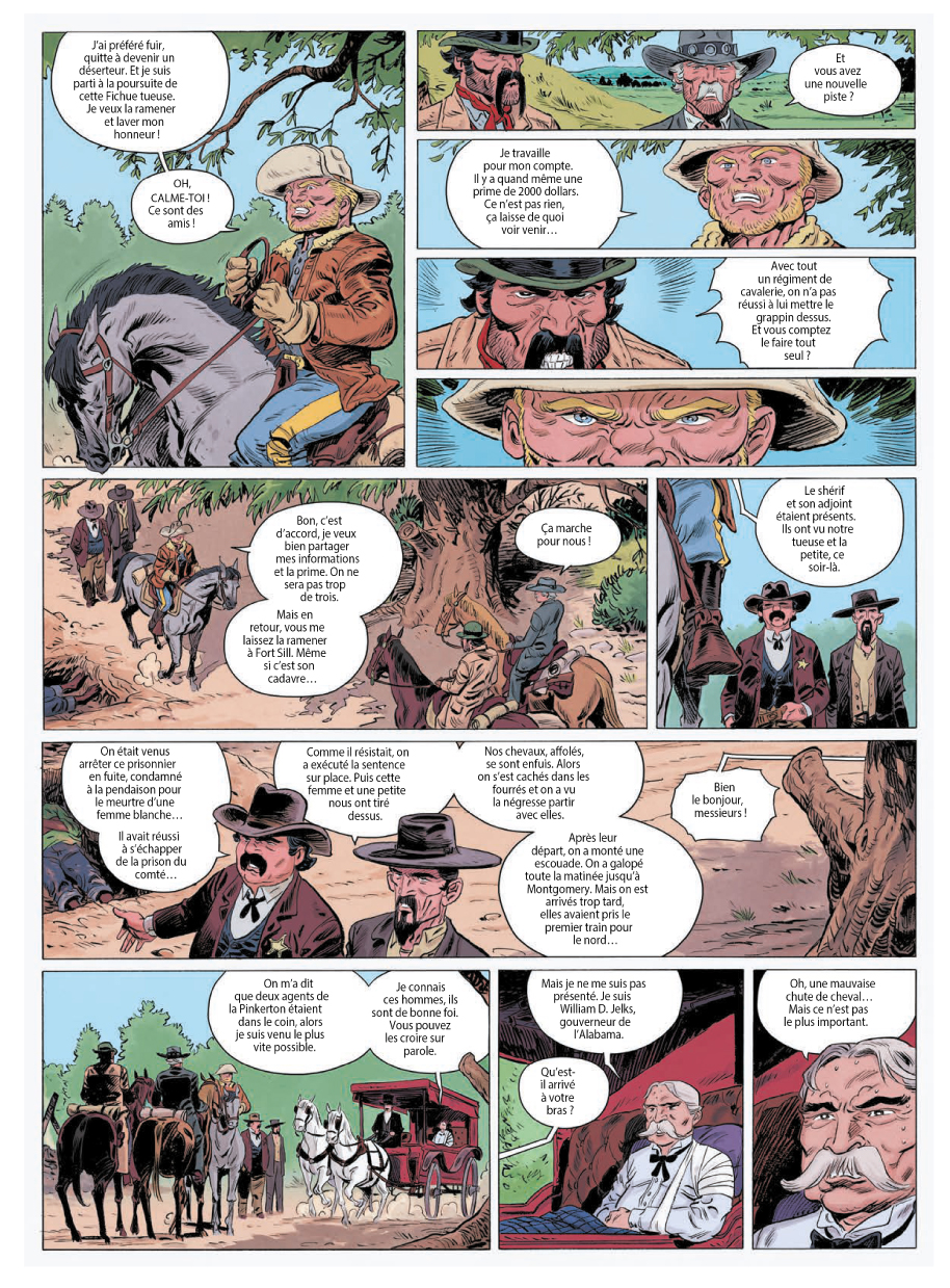Extrait n°9 de la bd tome 3 par Laurent Astier
