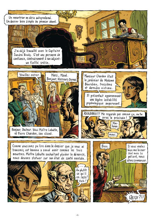 Extrait n°3 de la bd tome 3 par Erwan Courbier