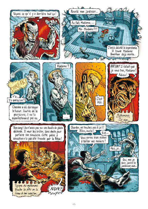 Extrait n°7 de la bd tome 3 par Erwan Courbier