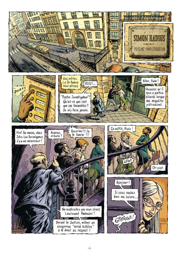 Extrait n°8 de la bd tome 3 par Erwan Courbier
