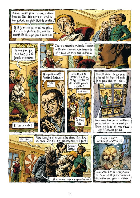 Extrait n°9 de la bd tome 3 par Erwan Courbier