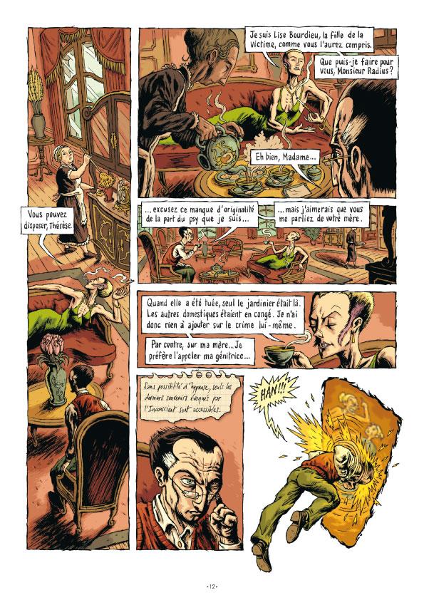 Extrait n°11 de la bd tome 3 par Erwan Courbier