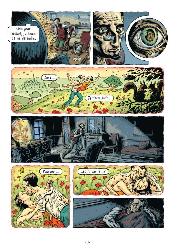 Extrait n°13 de la bd tome 3 par Erwan Courbier