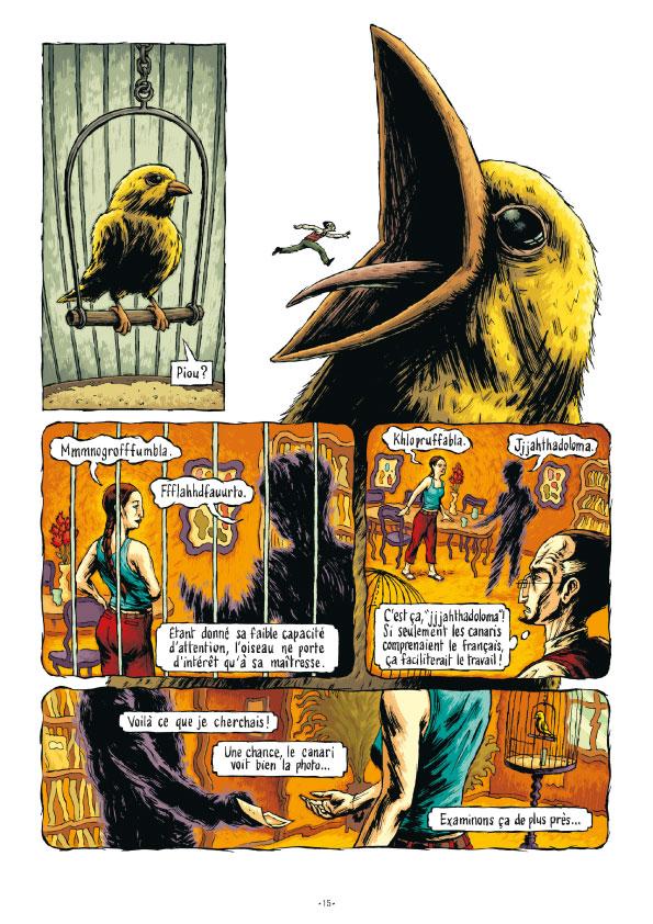 Extrait n°14 de la bd tome 3 par Erwan Courbier